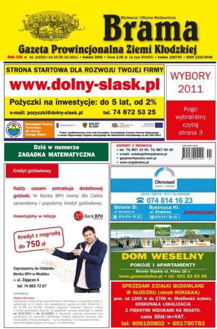 okładka 41/2011